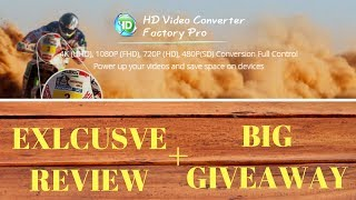 Best Video Coverter - HD Video Converter Factory Pro Exclusive Review and Massive Giveaway