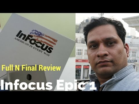 Hindi | Infocus Epic 1 Full N Final Review, American Way | Sharmaji Technical