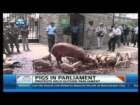 Kenyans Demonstrate Over Mps Pay Increase Demand