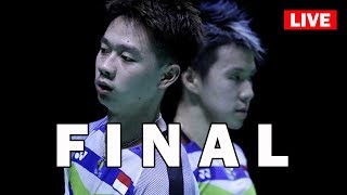 KEVIN / MARCUS Live Badminton FINAL FUZHOU CHINA OPEN 2018 LIVE SCORESTATS