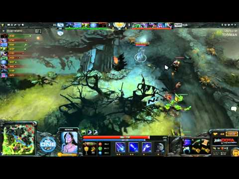 Evil Geniuses vs North American Rejects Game 3 - ESL One Dota 2 Playoffs - TobiWan & Capitalist