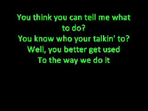 D-generation-x - Theme Song - Lyrics video