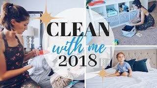 POWER HOUR CLEANING (2018) || STAY AT HOME MOM CLEANING