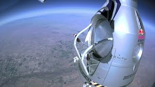 Terror at 60,000 Feet - Red Bull Space Dive - BBC