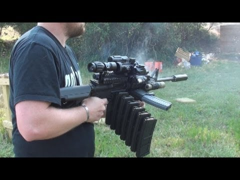 RANGE TEST: THE ULTIMATE AR-15 MALL NINJA TACTICAL ZOMBIE DESTROYER!