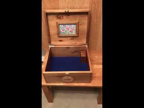Music Memory Box Personalised