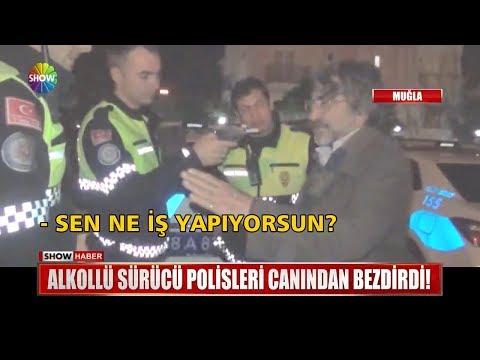 Alkollü sürücü Polisleri canından bezdirdi!