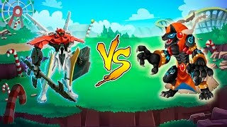Monster Legends - ML-1 YAMATO VS Darknubis Final mazmorra Isla Laberinto Pascua (Easter Maze Island)