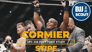 BJJ Scout: Daniel Cormier v Stipe Miocic Post Fight Study: Evolution of DC's Dirty Boxing
