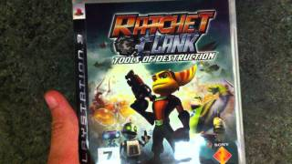 Распаковка Ratchet & Clank Tools of Destruction