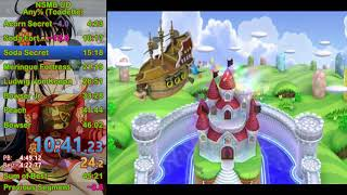 {WR} New Super Mario Bros. U Deluxe Speedrun - 41:06 [Toadette]