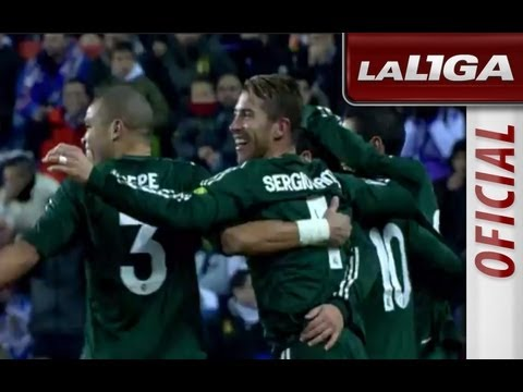 Real Valladolid - Real Madrid (2-3) J15 Liga BBVA 2012/2013.