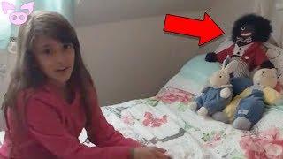 Creepy Dolls Caught Moving on Camera