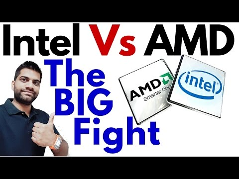 Intel Vs AMD Processors? Which One is better for you?   Comparison