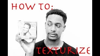 HOW TO TEXTURIZE NATURAL HAIR (ORS OLIVE OIL)|WINSTONEE