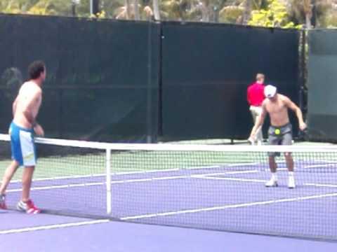 David Ferrer : Tennis or Soccer?