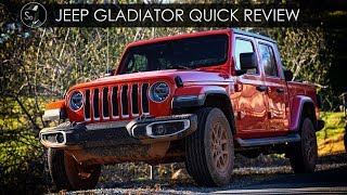 2020 Jeep Gladiator Quick Review | Code Brown