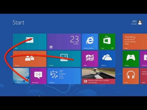 Windows 8 - Touch Screen Interface Guide for Beginners [Tutorial]