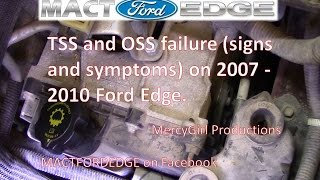 TSS and OSS 6F50 transmission failure on 2007 2010 Ford Edge explained