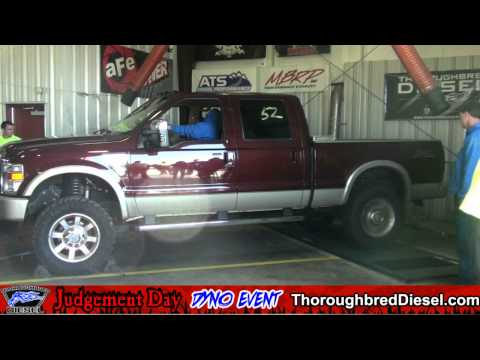 2009 Ford F-250 Diesel - Brad Bottoms Dyno Run