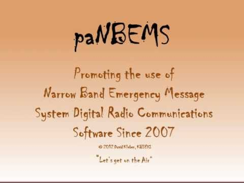 Amateur Radio with NBEMS - Getting started with Emergency Communications