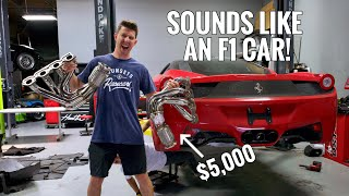 I MADE THE LOUDEST FERRARI 458 IN THE WORLD