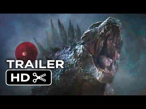 Godzilla Official Trailer - Courage (2014) - Bryan Cranston, Ken Watanabe Monster Movie HD