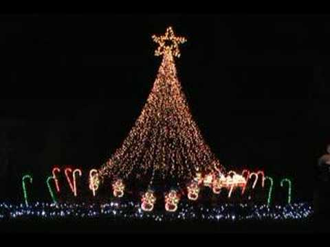 Happy Birthday Jesus Song Syncronized To Christmas Lights video