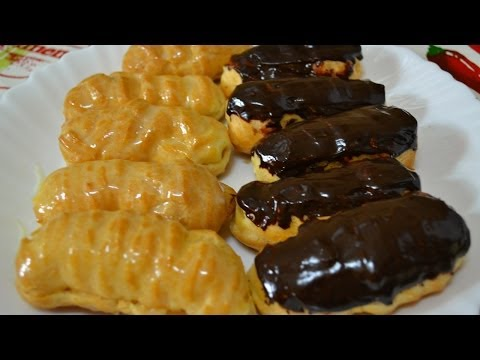 Как приготовить заварное пирожное - видео