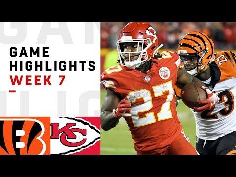 Bengals vs. Chiefs Week 7 Highlights  NFL 2018