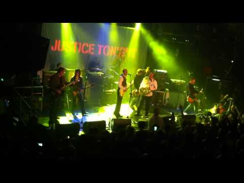 Justice Tonight with Mick Jones - Stay Free - Academy Dublin 30/3/12