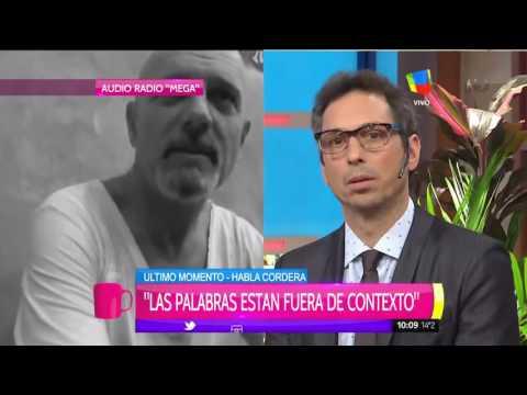La defensa de Gustavo Cordera: Me mandé una cagada y siento vergüenza