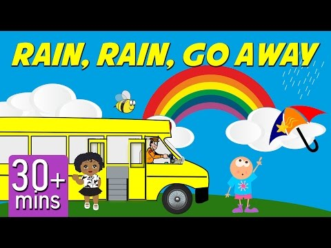 Rain, Rain, Go Away | Top 20 Children's Songs | Nursery Rhymes With Lyrics By The Singing Bell video