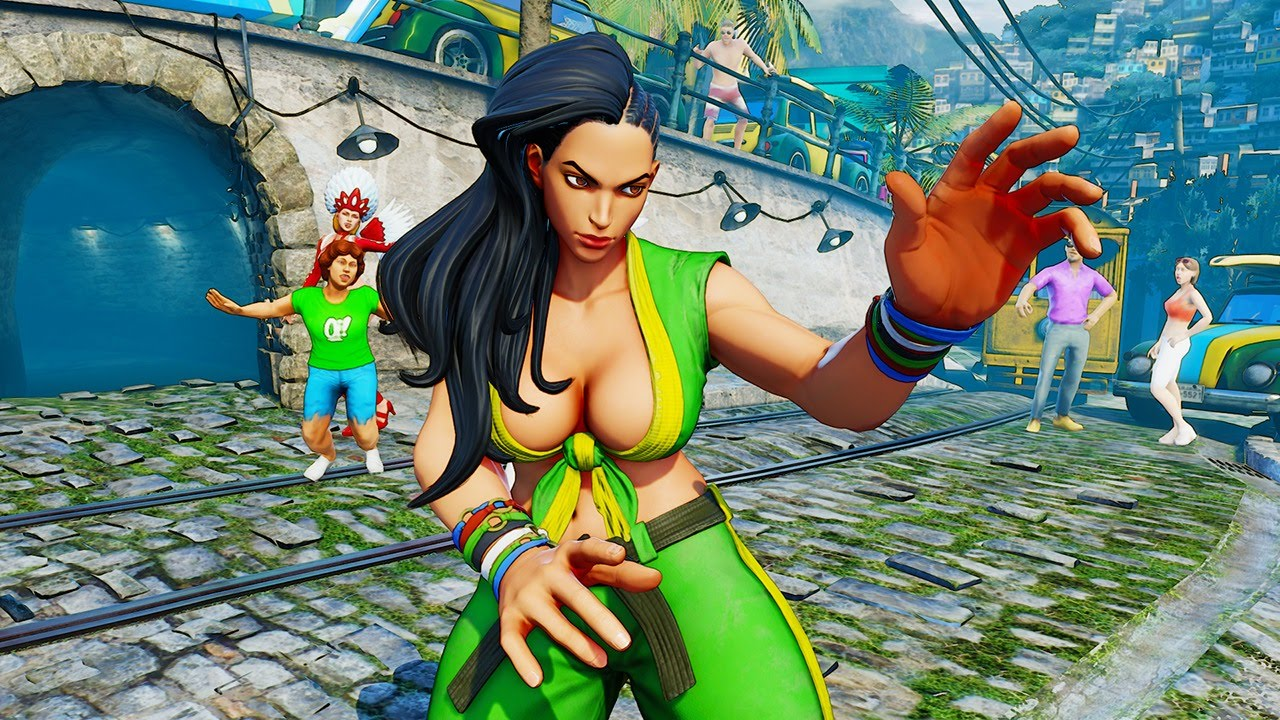 Street Fighter V Laura Official Reveal Trailer