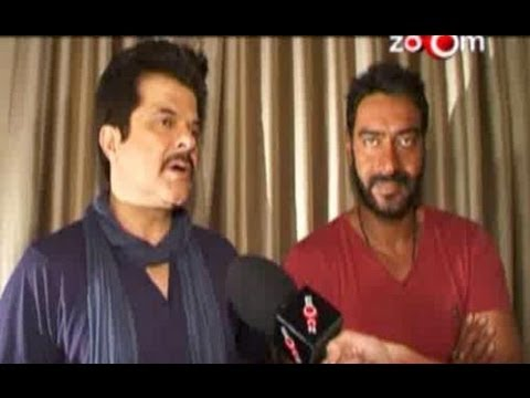 Ajay Devgn & Anil Kapoor Talk About Tezz video