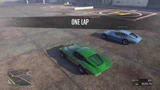 Grand Theft Auto race  friends