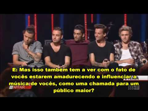 Entrevista One Direction para A Corrent Affair (Legendado PT-Br) parte 1