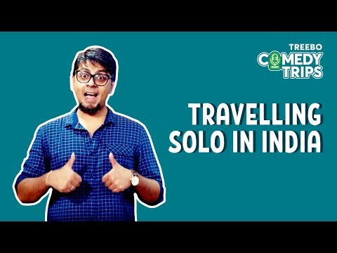 Treebo Comedy Trips - Abijit Ganguly In Mumbai - Travelling Solo In India