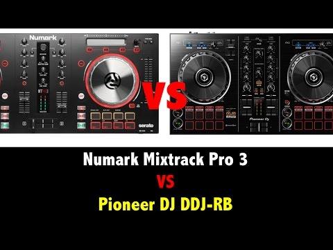 Numark Mixtrack Pro 3 VS Pioneer DJ DDJ-RB Cual es Mejor?