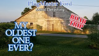 My OLDEST One Ever? Awesome FINDS | Metal Detecting ROAD TRIP 2019