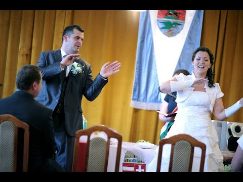 Bea & Roli esküvői meglepetés 2014.07.12.