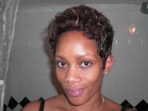Marilyn Wig Cut Halle Berry Style Color P4/27