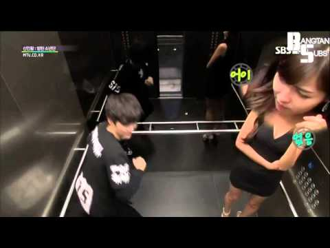 BTS Funny Elevator Prank