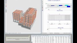 Edisis 2000: Video breve tematico su sincronismo, velocità di calcolo, analisi pushover
