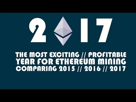 2017 - THE MOST EXCITING / PROFITABLE YEAR FOR ETHEREUM MINING - GENESIS MINING / MINING RIG