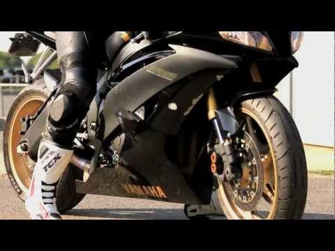 YAMAHA R6 _ Black and Gold _Circuit Carole _  music by 2S