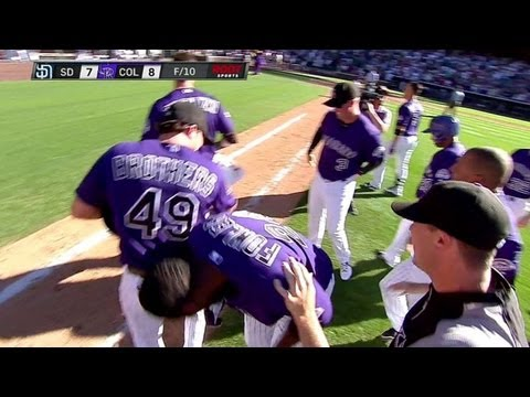 SD@COL: Fowler wins it with a walk-off single in 11th