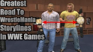 Top 5 Greatest Road To WrestleMania Storylines Ever In WWE Games