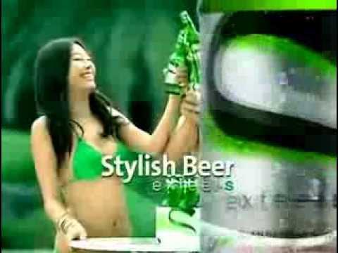 Корейская реклама ПИВА