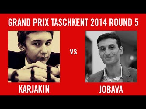 Grand Prix Tashkent 2014 Round 5 - Karjakin vs Jobava